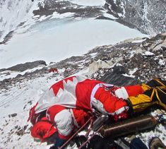 Last resting place of a canadian mountineer.. The Everest