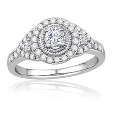 Ecoura%u2122 Collection Diamond Engagement Ring 3/4ctw - Item 19097930   REEDS Jewelers