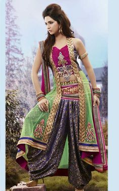 Latest Salwar Suit Style (HMIS 5008)