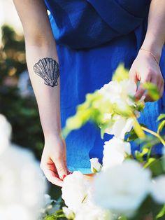 shell tattoo / my very first / ida365.fi