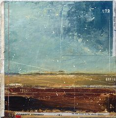 abstract landscapes | Kathryn Frund... Small Reverence (mixed media, 6 x 6 inches). From ...