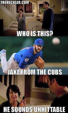 Jake from the Chicago Cubs