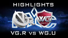 WG.Unity vs VG.R Nanyang 2016 LB Highlights Dota 2