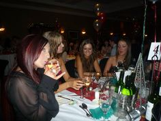 Beccy, Angharad, Stacey & Laura