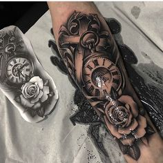 - upper arm -upper arm - upper arm -arm - upper arm -upper arm - upper arm - 69 ideas tattoo frauen rosen oberarm by . Tattoos Masculinas, Forarm Tattoos, Forearm Sleeve Tattoos, Watch Tattoos, Best Sleeve Tattoos, Sleeve Tattoos For Women, Tattoo Sleeve Designs, Tattoo Designs Men, Body Art Tattoos