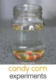 Halloween is the perfect time for some candy experiments! Do three simple candy corn science experiments using things you have in the kitchen. Candy Experiments, Science Experiments Kids, Science Fair, Science For Kids, Science Projects, Science Activities, Science Ideas, Summer Science, Physical Science