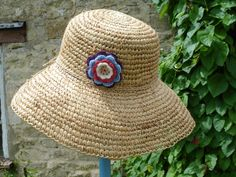 Echoes of a Dream: crochet sunhat....