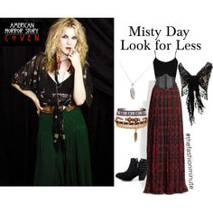 american horror story coven misty day fashion look for less. yes please!