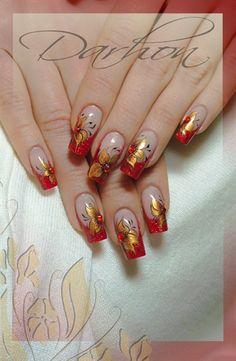 reds by Darhon - Nail Art Gallery nailartgallery.nailsmag.com by Nails Magazine www.nailsmag.com #nailart