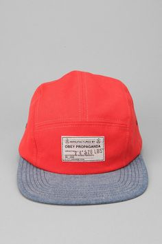 OBEY Munition 5-Panel Hat  #UrbanOutfitters