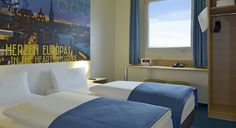 Zweibettzimmer im B&B Hotel Aachen-Würselen
