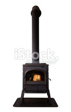 Cast iron stove Lizenzfreies Foto