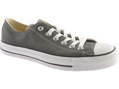 Converse Chuck Taylor All Star in Leather, Charcoal  -  CLICK TO GET 20% OFF WITH COUPON CODE!