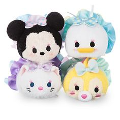 Minnie Mouse and Friends Dressy Tsum Tsum Plush Set