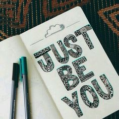 JUST BE YOU.