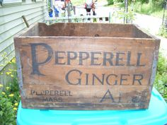 1890's Pepperell Ginger Ale Company Pepperell by parkledge on Etsy, $125.00