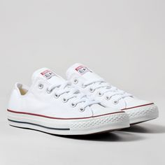 Converse All Star OX Shoes - Optical White