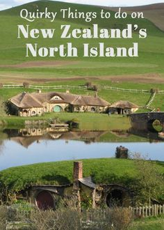 North Island New Zealand Itinerary Quirky Things to Do on New Zealand's North Island -- I've always wanted to visit Hobbiton since I love Lord of the Rings. New Zealand Itinerary, New Zealand Travel Guide, Brisbane, Places To Travel, Places To Visit, North Island New Zealand, New Zealand Adventure, New Zealand Holidays, Visit New Zealand