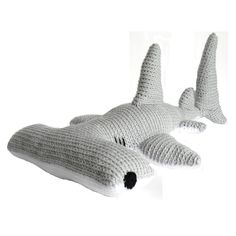 Presenting Hector the Hammerhead Shark! *Skill Requirements* - Single Crochet - Increasing - Decreasing - Color Changes There are several pages of instructions, tips and pictures to help you finish your stuffed animal. I have tutorials on everything you will need to know to complete this project on my blog. www.adrialyshc.blogspot.com *Copyright* You may NOT sell, redistribute, or publish this pattern or parts of this pattern. You MAY sell finished products made with this pattern, provided…