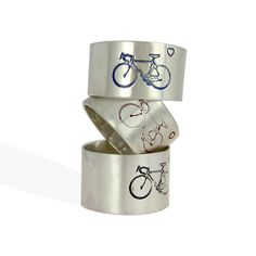 #Bicycle Sterling Silver Ring