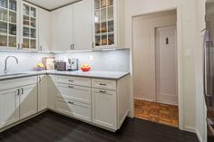 In one apartment complex, three very different spaces made out of the same basic B-Line kitchen.