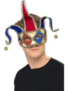 Venetian Jester Eye Mask « Masquerade Masks Shop ~ Masquerade Masks & Eye Masks for parties and Masquerade Balls