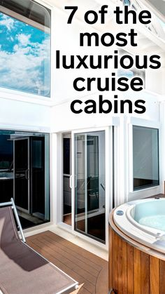 7 of the most luxurious cruise cabins in the world