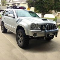 """4"""" Jeep Grand Cherokee and Commander 2006-2007 Suspension Lift Kit - 4WD   Superlift"""