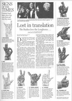 Satanic Hand Gestures 2 resistance2010 by The Resistance Image Library, via Flickr
