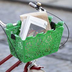 Green Bike Basket | MoMA Store