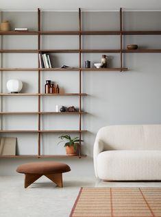 Bond - Fogia Stockholm Design, Modular Shelving, Shelving Design, Wall Shelving, Shelving Ideas, Minimalist Interior, Minimalist Style, Minimalist Fashion, Interior Design Shows
