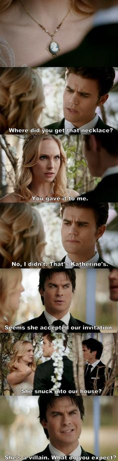 """#TVD 8x15 """"We're Planning a June Wedding"""""""
