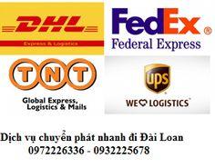 Phí gửi đồ bưu phẩm từ Việt Nam sang Đài Loan | DHL GIẢM Giá