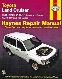 Haynes Publishing provide manuals for a wide range of Toyota models. Learn how to make DIY car repairs and service your Toyota with our comprehensive guides. Toyota Land Cruiser 100, Nissan Navara, Toyota Cars, Ford Ranger, Toyota Corolla, Repair Manuals, Diesel, Workshop, Motors