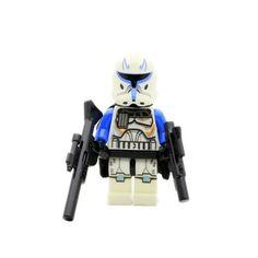 STAR WARS Figurka Captain Rex Clone Trooper Klocki