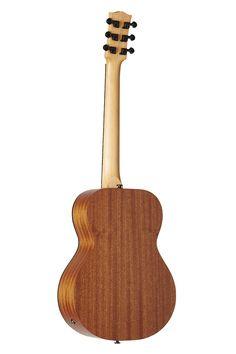 Australian, Handmade, Acoustic EMM 6 from Maton Guitars. Back View.