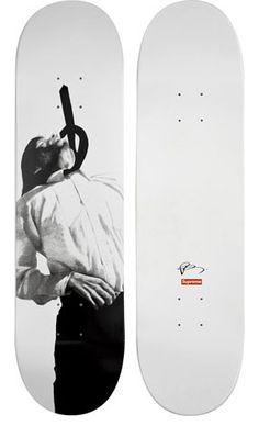 Robert Longo skateboard decks for Supreme