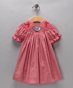 Look at this Alabama Crimson Tide Bishop Dress - Infant & Girls on #zulily today!