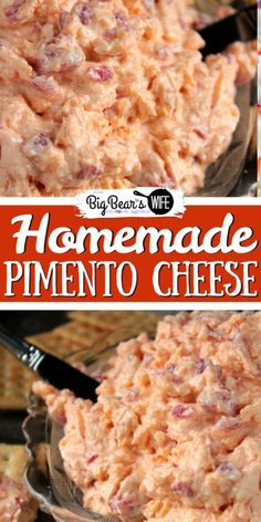 Every good southern woman should have a homemade Pimento Cheese recipe in her back pocket! With the recipe from my grandmother's recipe box and a few tests in the kitchen, I made some of the best… Homemade Pimento Cheese, Pimento Cheese Recipes, Cheese Snacks, Old Fashioned Pimento Cheese Recipe, Pimento Cheese Recipe Pioneer Woman, Pimiento Cheese, Cheese Dishes, Empanadas, Appetizer Recipes