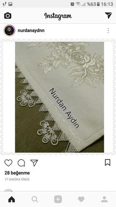 This Pin was discovered by Gül Brother Innovis, Filet Crochet, Needle And Thread, All Craft, Save Yourself, Tatting, Needlework, Knots, Diy And Crafts