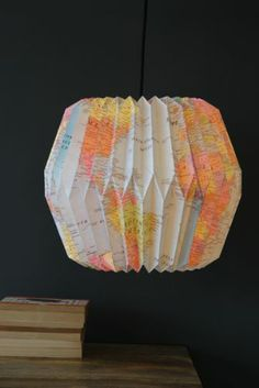 Map Lampshade (for Olie's room)