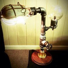 Another steampunk lamp I made