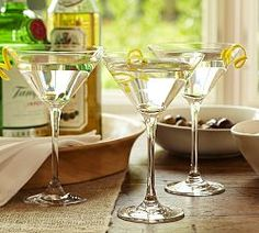 Wine Glasses, Glassware, White Wine & Martini Glasses | Pottery Barn