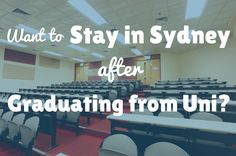 Study in Australia: Want to Stay in Sydney After Graduating from University?