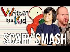 BRAND NEW SHOW: Written By a Kid!  Ep #1 is Scary Smash featuring Dave Foley, Joss Whedon & Kate Micucci YAY!