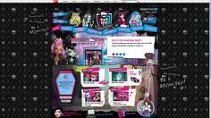 """Competition for 6+: Monster High. Too """"young"""" styled for us, but note the cartoon version of the character vs the real doll."""
