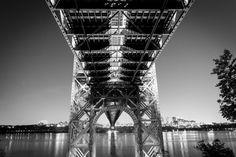 Under the George Washington Bridge by LandscapesByWes on Etsy, $35.00