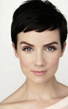 The short pixie cut in brunette. http://beautyeditor.ca/2014/10/17/haircut-to-hide-thinning-hair