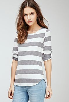 Striped Knit Top | Forever 21 - 2000134580