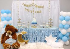 Twinkle Twinkle Little Star Birthday Party Ideas | Photo 1 of 14